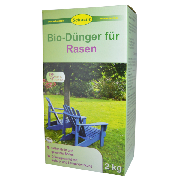 bio d nger f r rasen 2 kg f schacht gmbh co kg. Black Bedroom Furniture Sets. Home Design Ideas